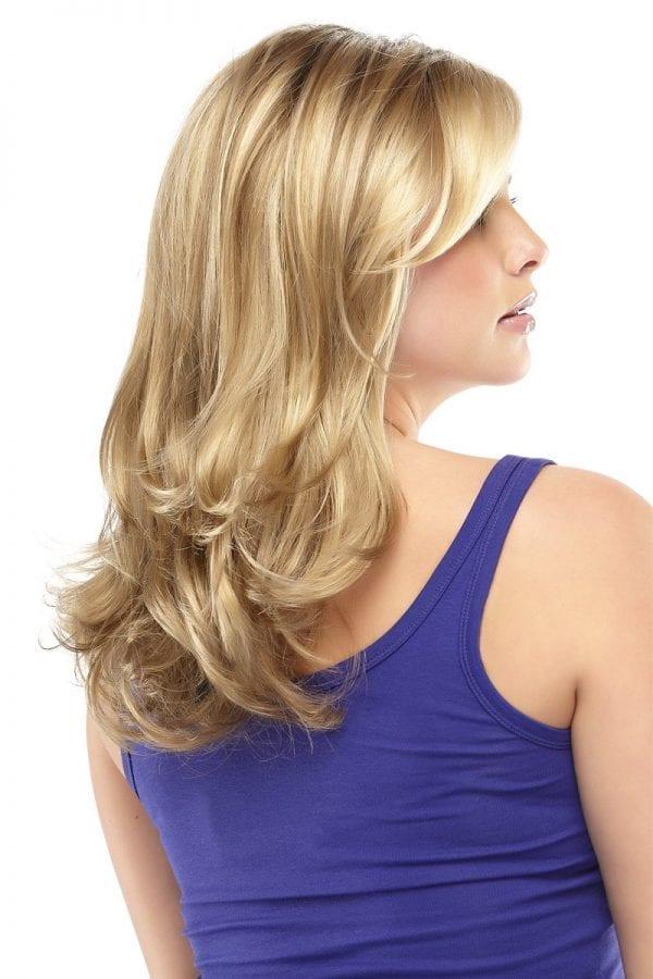 Gisele wig back blonde