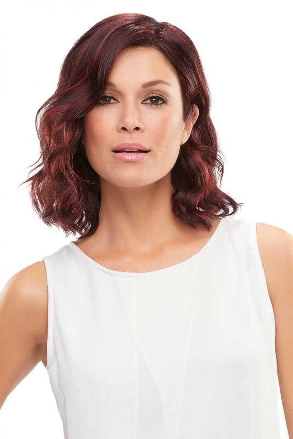 Scarlett wig red front